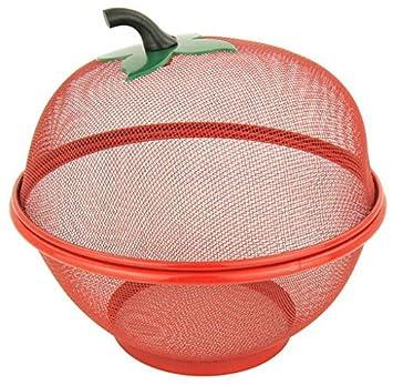 Corbeille Panier Cloche à Fruit Anti Insecte Forme Pomme Amazon Fr