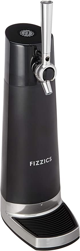 Fizzics FZ403 DraftPour Beer Dispenser - Converts Any Can or Bottle Into a Nitro-Style Draft Awesome Gift for Beer Lover