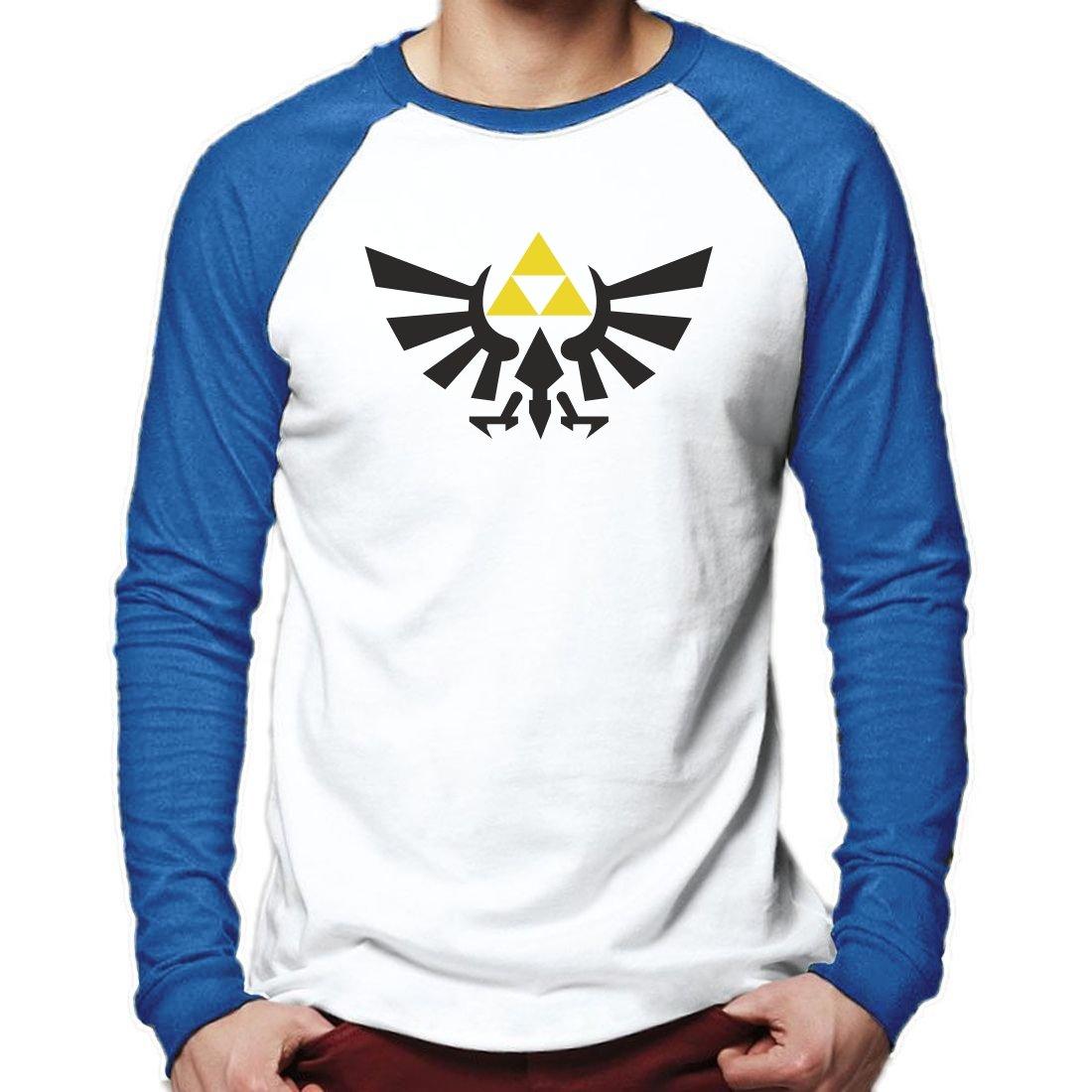 Legend of Zelda Baseball T Shirt Long Sleeve Tee