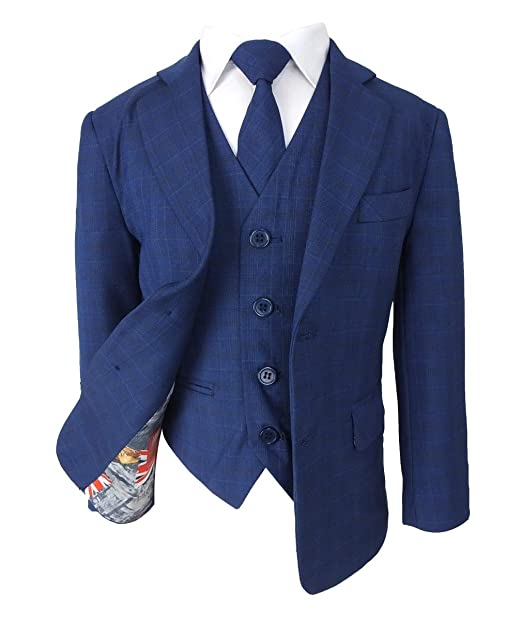 SIRRI Joe Cooper - Trajes de Boda para niños Azul Azul Real 16 ...