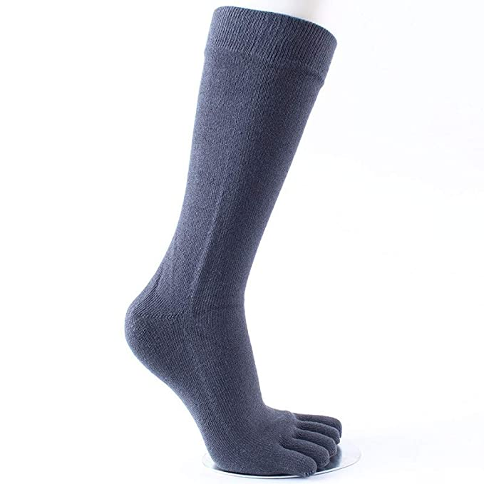 Amazon.com : HOMES1 Five Fingers Socks Long 5 Pairs/lot Combed Cotton Compression Sock 5 Finger Socks calcetine Blue : Pet Supplies