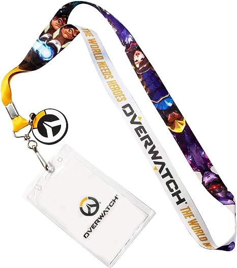 Bioworld Overwatch Logo Lanyard