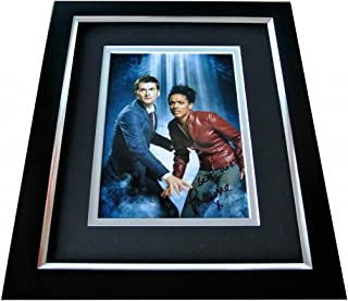 Sportagraphs Freema Agyeman Signed 10x8 FRAMED Photo Autograph Display TV Doctor Who & COA