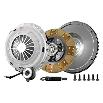 Embrague Masters 17375-hdtz-shp único disco y volante Kit de embrague con Heavy Duty plato de presión (para Audi A3 2010 - 2013.): Amazon.es: Coche y moto