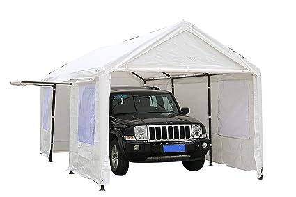 Amazon Com Sorara Carport 10 X 20 Ft Heavy Duty Canopy Garage Car