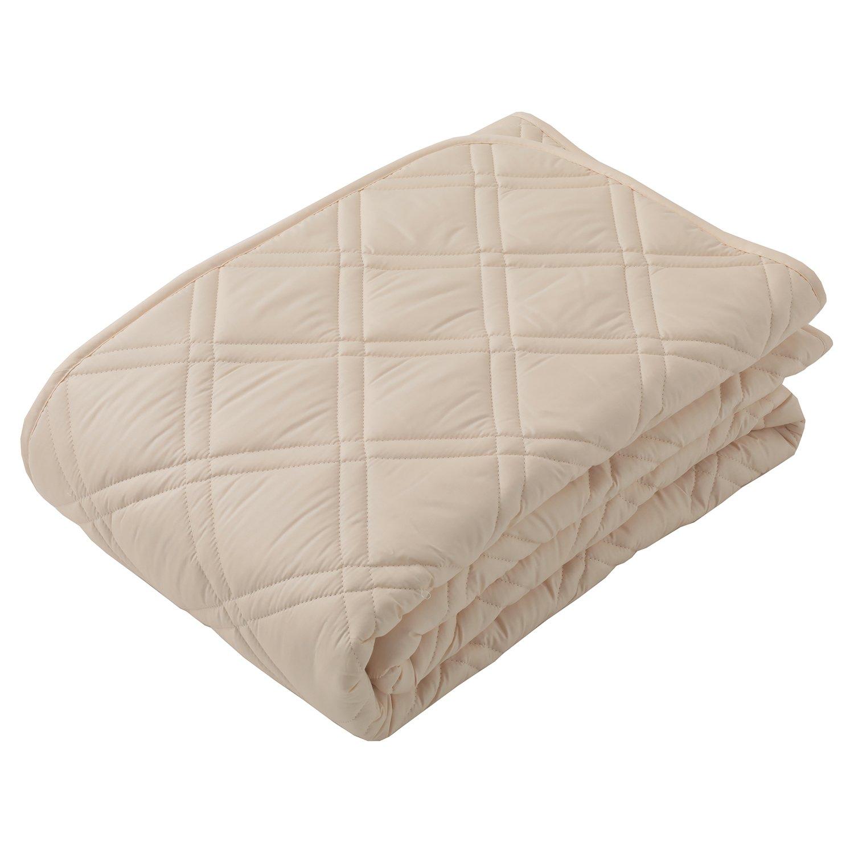 東京西川 ベッドパッド クイーン ウール 洗える 日本製 抗菌防臭加工 CM36002004BE B06XC4FFWD クイーン  クイーン