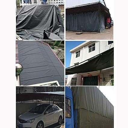 BAIF Heavy Duty Tarpaulin Grey Waterproof Strong Cover Ground ...