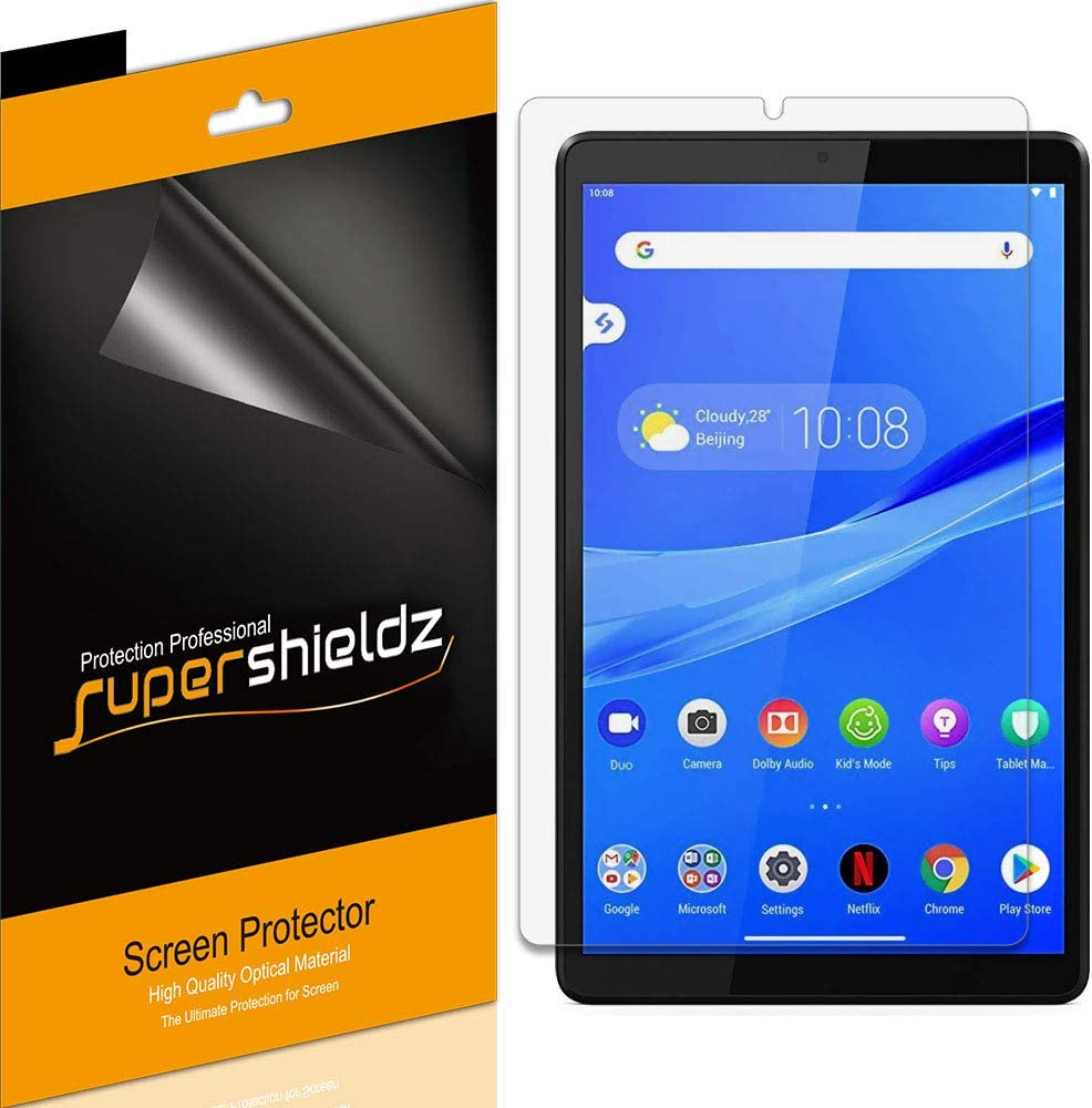 (3 Pack) Supershieldz for Lenovo (Tab M8 FHD) 8 inch Screen Protector Anti Glare and Anti Fingerprint (Matte) Shield