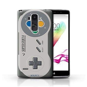Carcasa/Funda STUFF4 dura para el LG G4 Stylus / serie: Consola de juegos - Super Nintendo