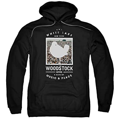 adfefd06c54e7 Woodstock Birds Eye View Unisex Adult Pull-Over Hoodie for Men and Women