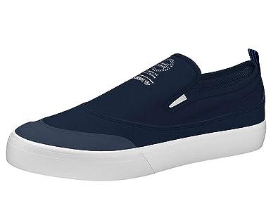 new product 7fb48 4dd2e adidas Matchcourt Slip On Collegiate Navy Footwear White Gum4 6.5uk   Collegiate  Navy