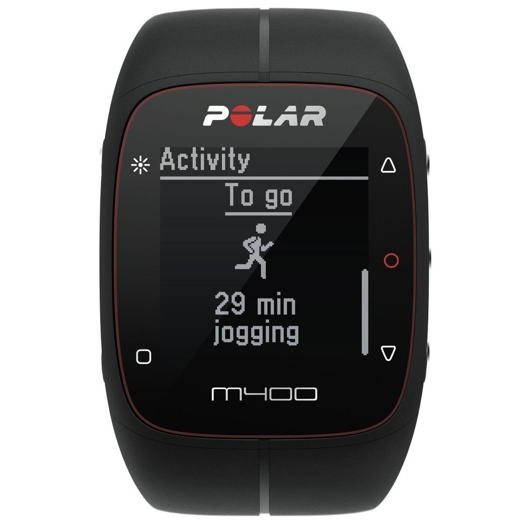 POLAR Trainingscomputer M400 - Color- Black