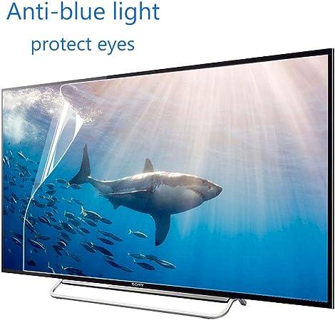 ZSLD 32 Pulgadas De Monitor De TV Protectores De Pantalla, Frosted Película Bloques Excesiva Nocivo Luz Azul, Reducir La Tensión Fatiga Ocular Y Ojo (Esmerilado Película): Amazon.es: Hogar