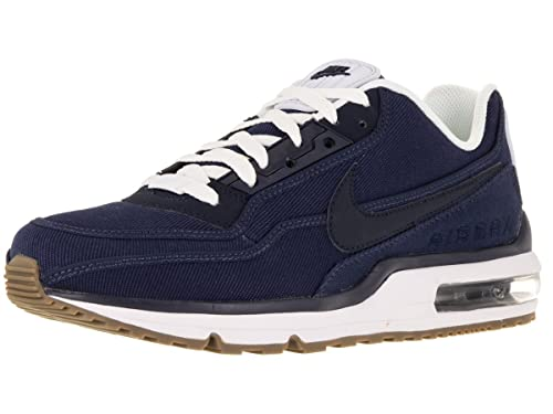 d0cfbd8a8cd6 Nike Men s Air Max LTD 3 TxT Mid Navy Obsidian White Gm Dark BRW ...