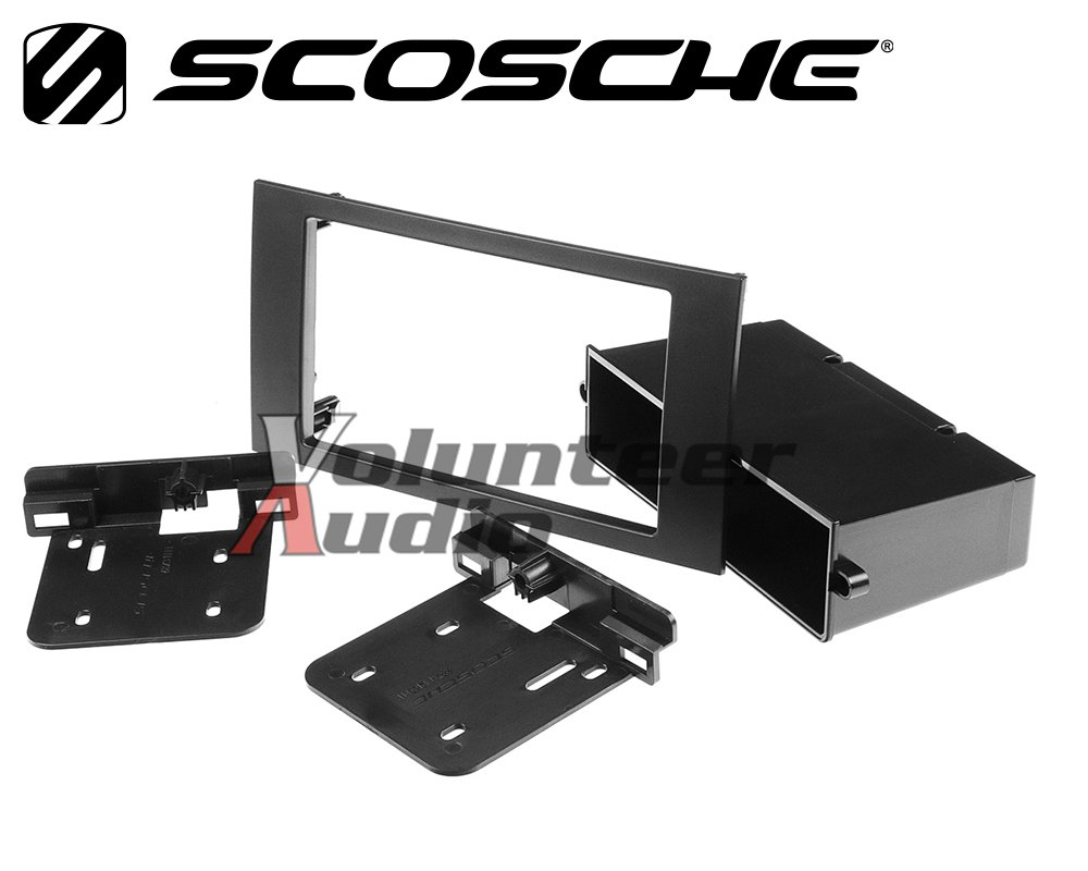 Volunteer Audio Pioneer AVH-201EX Double Din Radio Install Kit with CD Player Bluetooth USB/AUX Fits 2010-2011 Transit Connect by Volunteer Audio (Image #3)