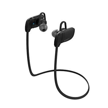 AUKEY Bluetooth Headphones, Wireless Sport Earbuds with Built-in Remote & Microphone for iPhone Android Smartphones