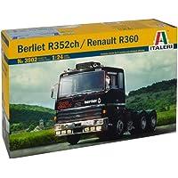 Italeri 3902–1: 24Berliet r352ch/Renault R360, vehículos