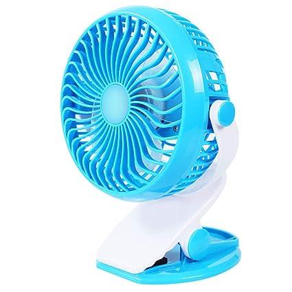 MEETGG Portable Handheld Fan Silent,3 Speed USB Rechargeable Mini Fan Battery Desk Fan Strong Wind for Office,Room,Desktop,Travel,Outdoor