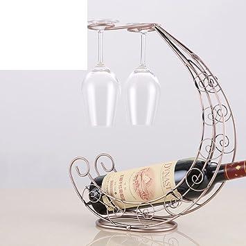 DW&HX Europ?ische ideen rotwein glas rack Flaschenregal wein Goblet ...