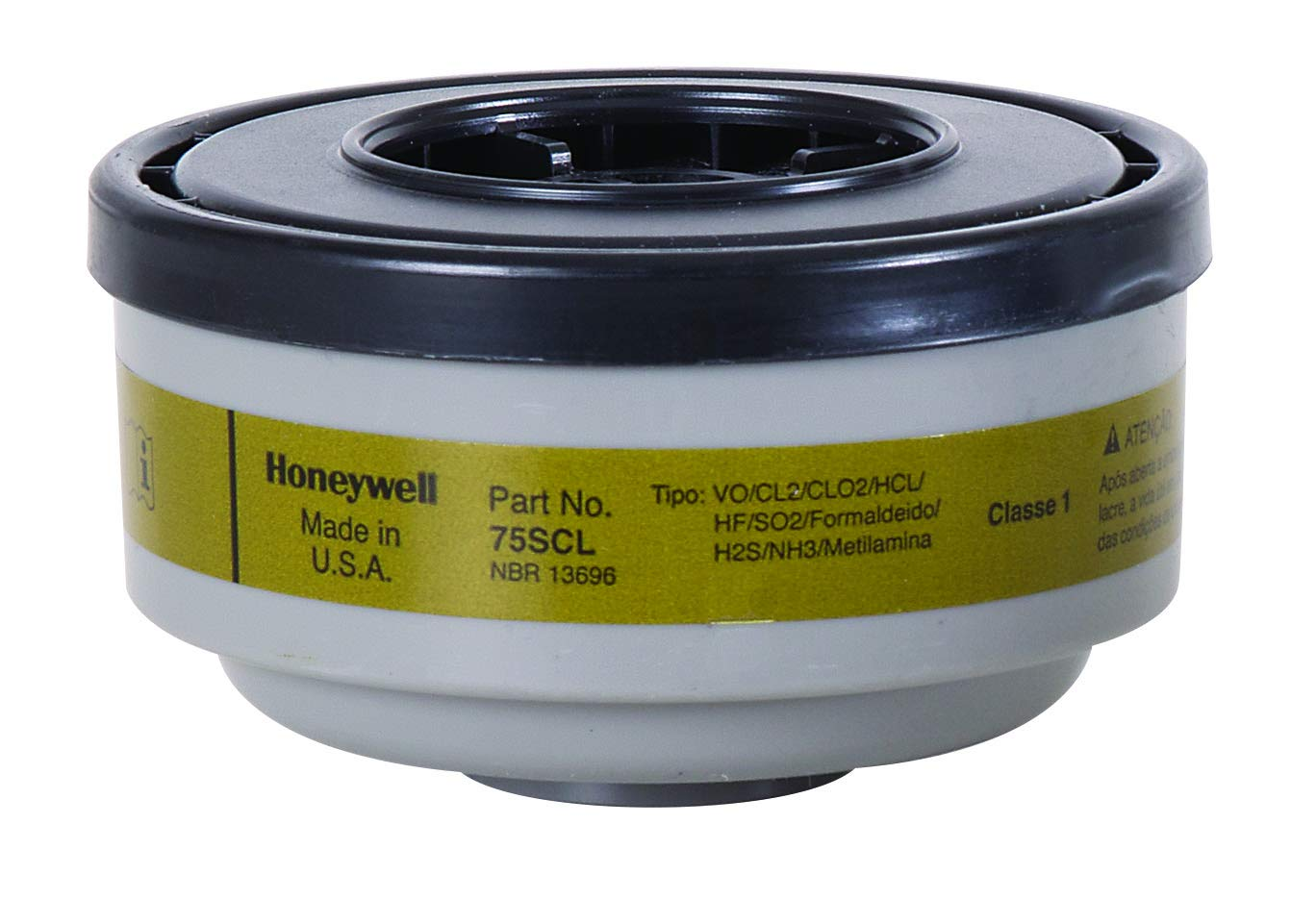 Image of Home Improvements Honeywell 75SCL Multi-Contaminant Cartridge, Standard, Grey/Green (Pack of 36)