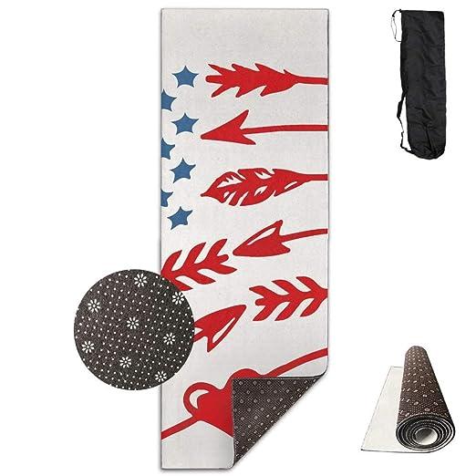 Esterilla de yoga con diseño de bandera estadounidense y ...