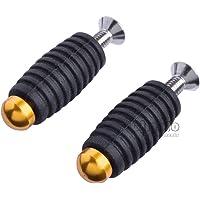 CNC - Reposapiés para motocicleta, 6 mm, palanca