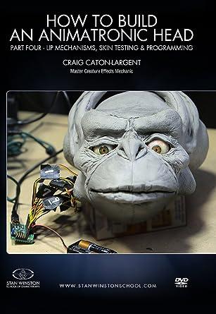 amazon com how to build an animatronic head part 4 lip mechanisms