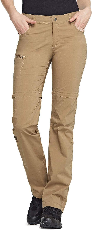 Outdoor Ventures Womens Convertible Pants Stretch Lightweight Cargo Pants Quick Dry Hiking Zip-Off Pants
