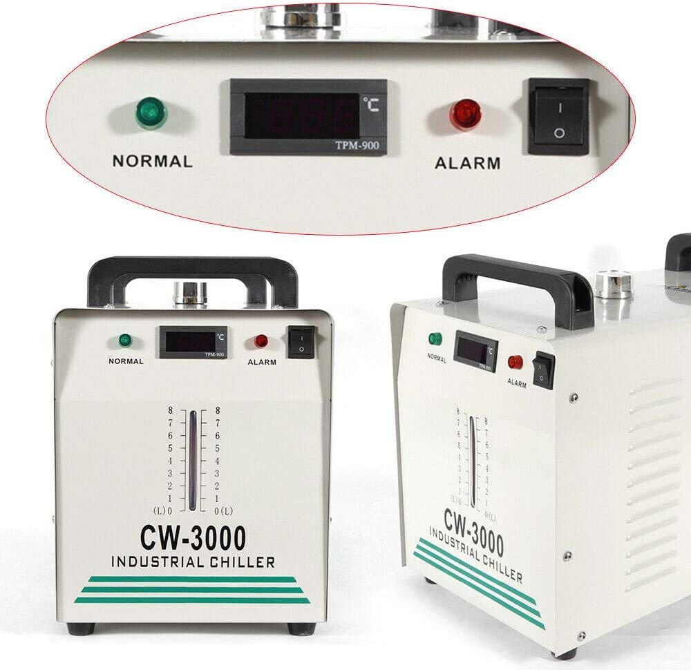 50W //℃ Laser Cooler Water Chiller  Tragbarer Industrieller Wasserkühler CW-3000