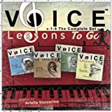 Voice Lessons To Go v.1-4 The Complete Set