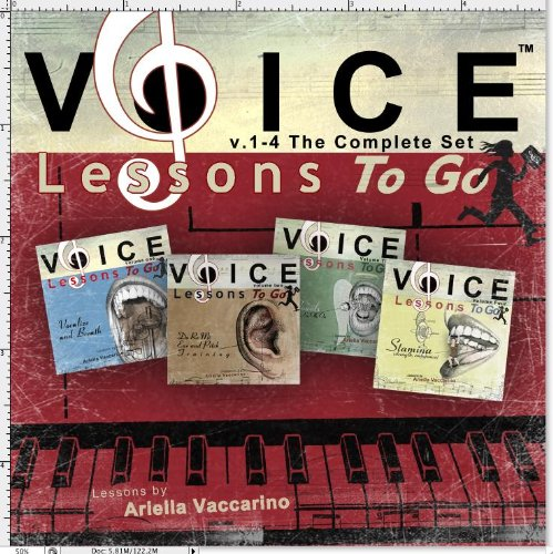 Voice Lessons to Go 1-4 : Complete Set by CD Baby (distributor)