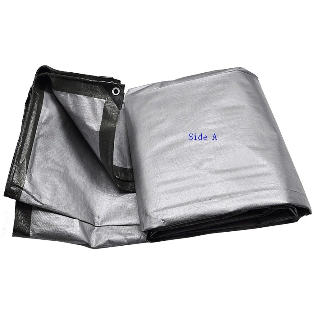 CXSM telone Panno Impermeabile Addensato Telo Prossoezione Solare Telo Parasole Parasole Parasole per Tende da Sole Telo Ultraleggero per Esterni Panno per Il carico del carico (180 g m²) (Dimensioni   6x12m) | Usato in durabilità  | Non così costoso  b09b6b
