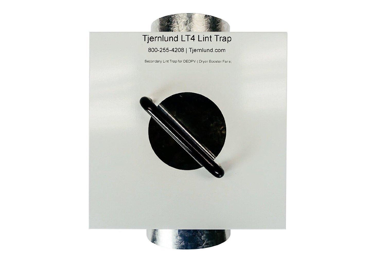 Tjernlund LT4 Lint Trap for DEDPV Dryer Booster Fans (Pack of 1)
