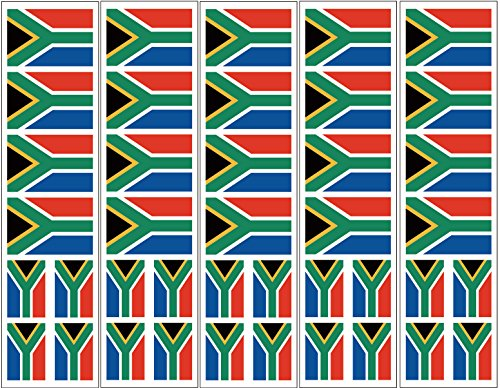 40 Tattoos: South Africa Flag, S. African Party Favors -