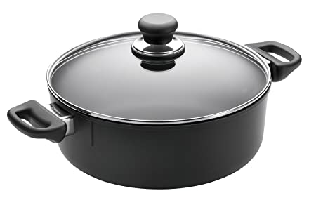 Scanpan Classic 3-3 4-Quart Covered Low Stew Pot