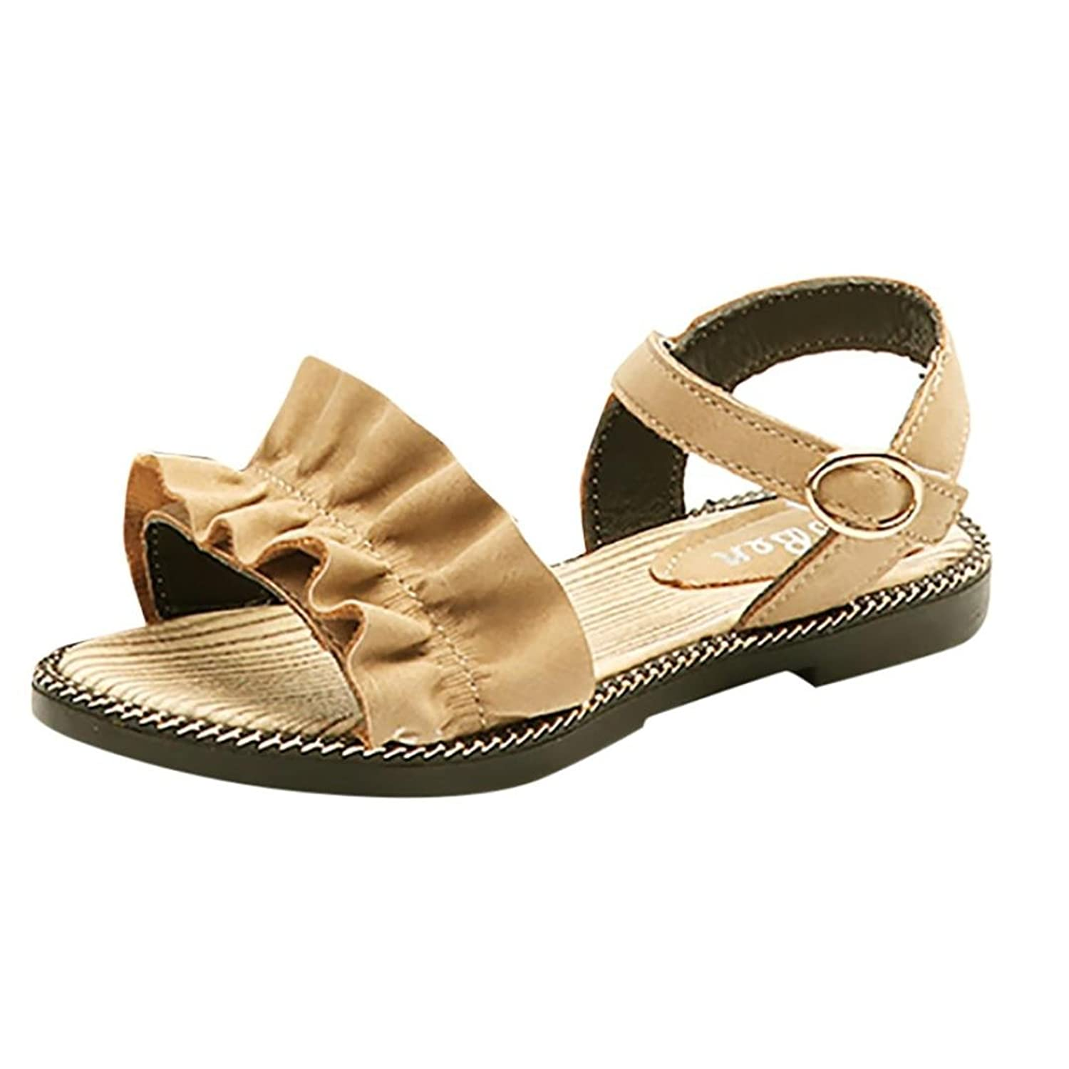 Lanhui Summer Kids Sandals Fashion Leather Bowknot Girl Pricness Shoes Baby