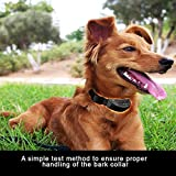 Non Barking Collar Pet Training Collar Electric Anti Bark Tone Shock for Small Pet Dog Automatic Protection Mode to Avoid Overstimulation of Dogs More Safe and Convenient Material Abs Alloy Black