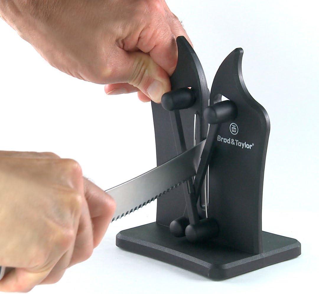 Brod & Taylor Classic Knife Sharpener Triple-Action Austrian Tungsten Carbide