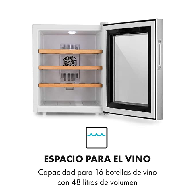 Klarstein Reserva 16 Blanco nevera para vinos - Vinoteca ...