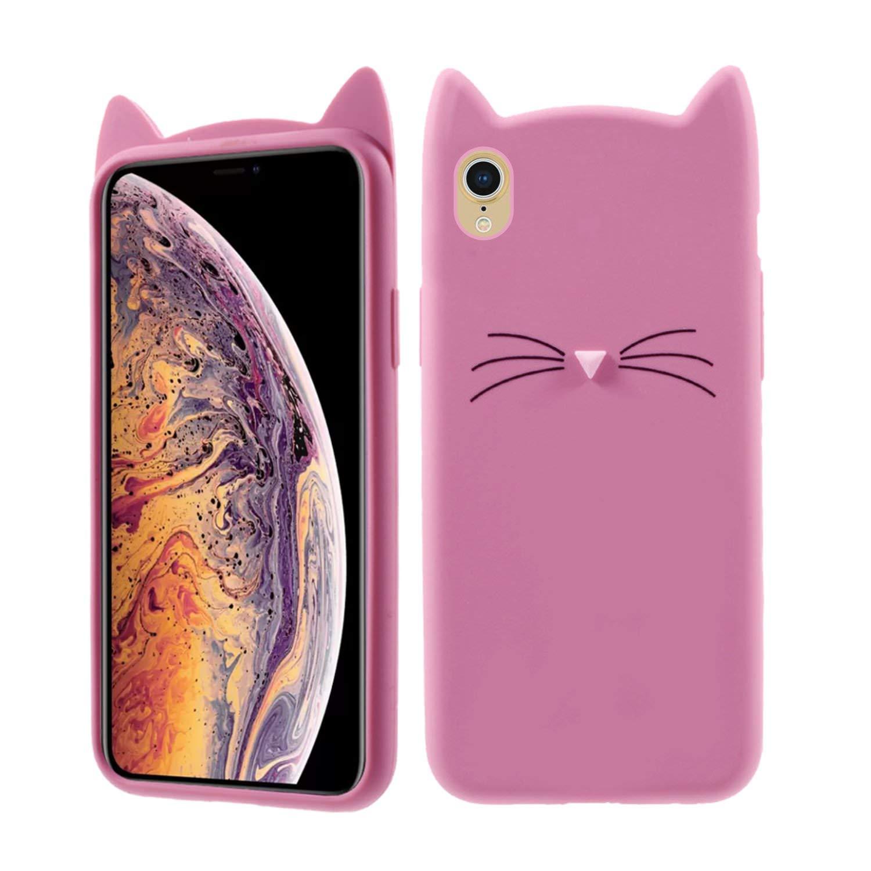 wholesale dealer ade77 c9cf6 Case Creation iPhone Xs Max Cat Covers,Cute 3D Mustache: Amazon.in ...
