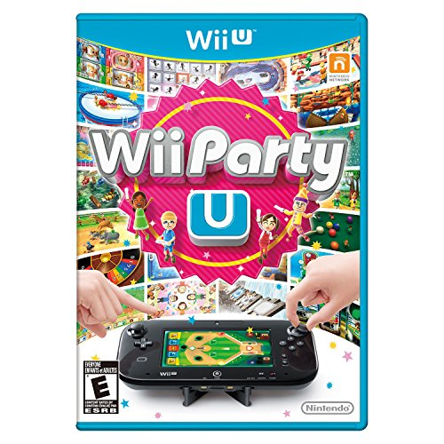 Wii Party U Game Only - No Remote Control - U Board Games Wii