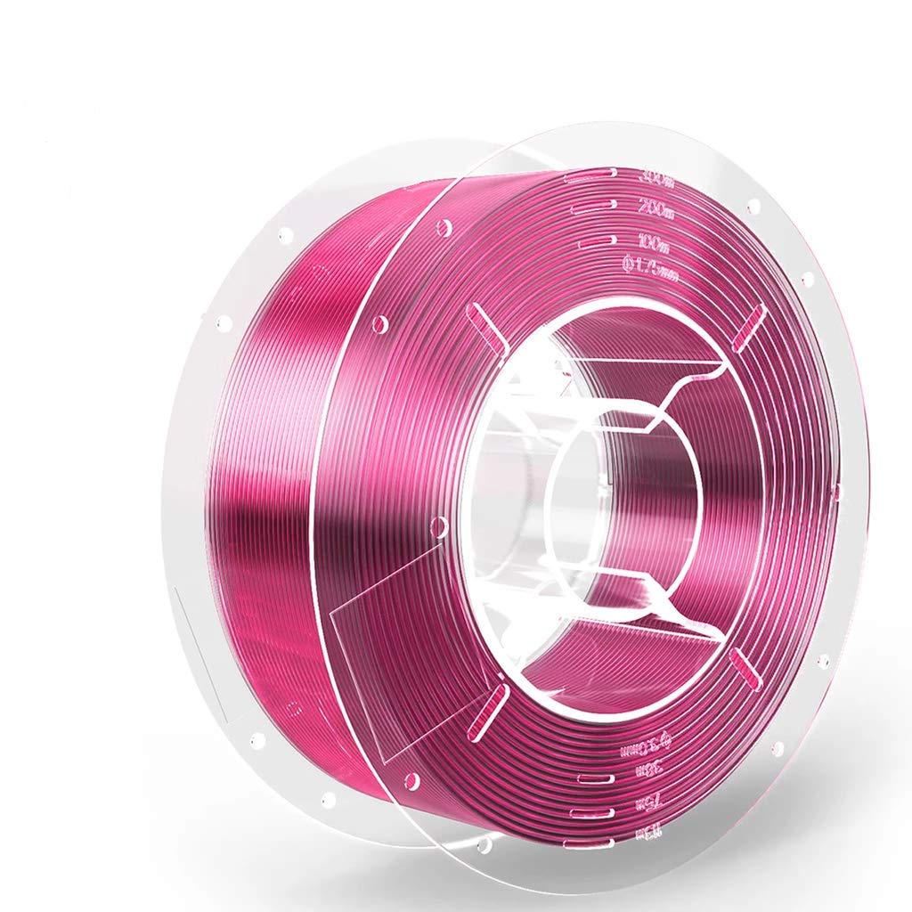 SainSmart 101-90-740PRP PRO-3 Tangle-Free Premium 1.75mm PETG 3D Printer Filament, Hot Pink PETG, 2.2 LBS (1KG) Spool, Dimensional Accuracy +/- 0.02mm