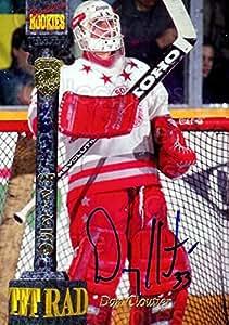 Dan Cloutier Hockey Card 1994 Signature Rookies Tetrad Signatures #CV Dan Cloutier