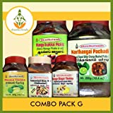 Shastha Combo Pack of G Rice Mix & Pickle (Contains of 6 Items)