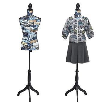 Giantex Female Torso Body Dress Form