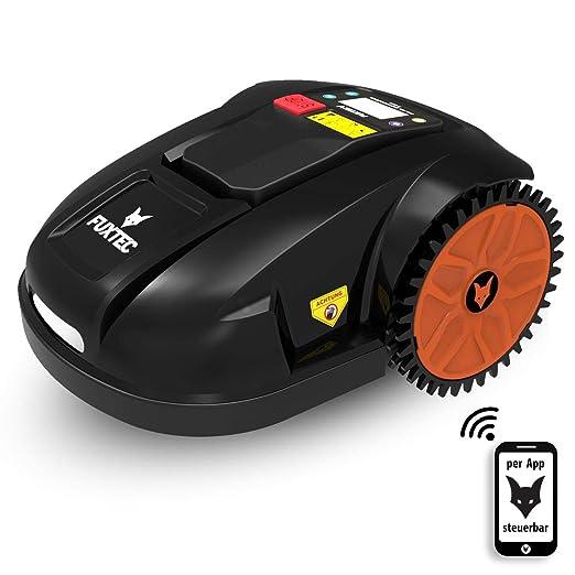 Fuxtec Robot cortacésped FX de perros batería Cortacésped Ideal ...