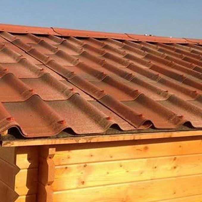 Tejas de PVC para impermeabilizar el tejado