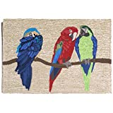 Liora Manne FT134A51944 Bright Whimsy Macaws Rug, Indoor/Outdoor, 30″ x 48″ Review