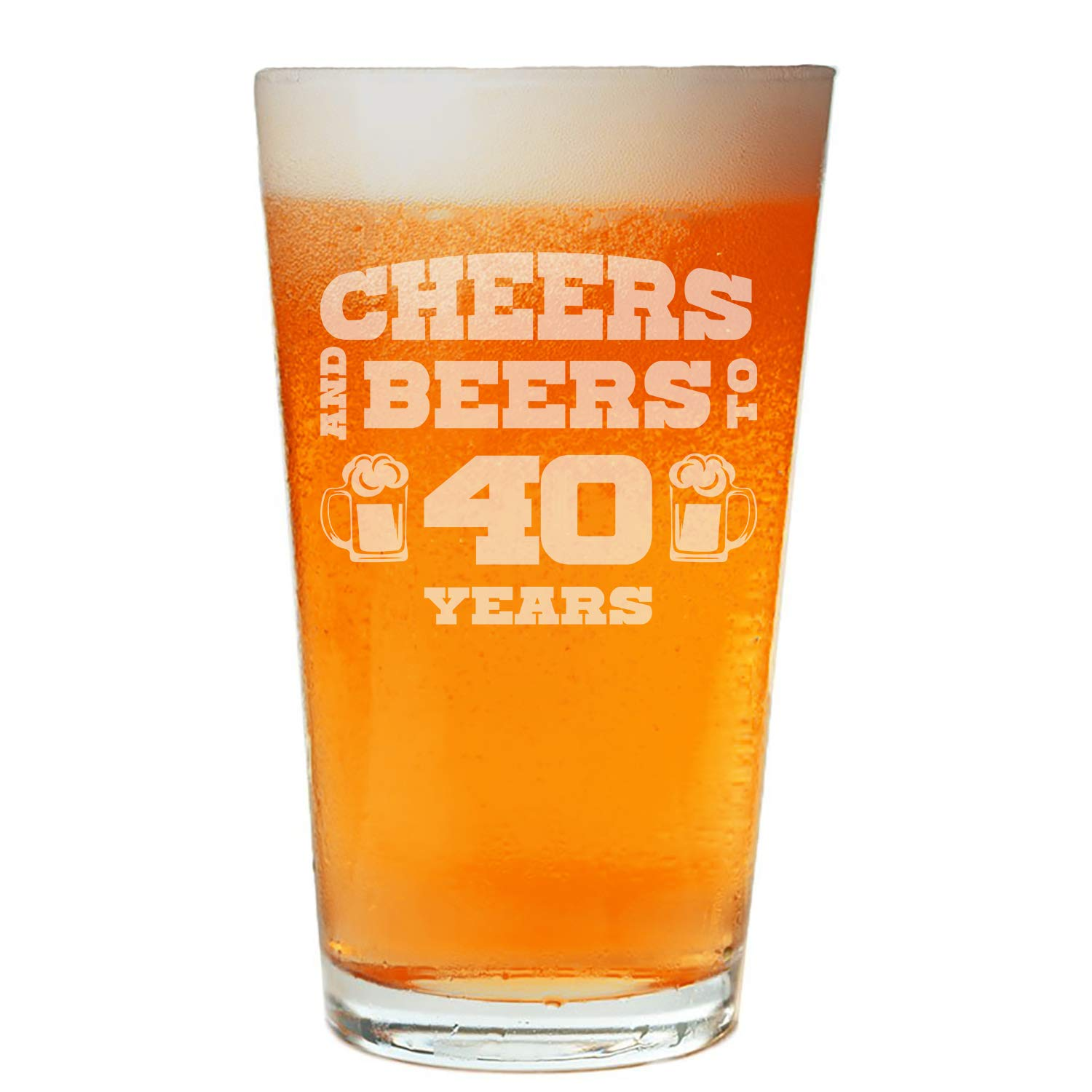 NeeNoNex Cheers And Beers To 30 Years Beer Pint