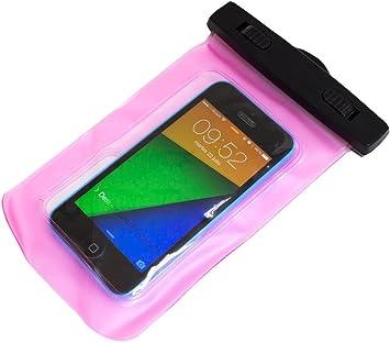 Biwond NUC-7752 - Bolsa impermeable para smartphone, rosa: Amazon ...